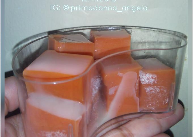 Thai Tea Pudding