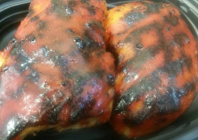 Grilled Buffalo Chicken Breasts