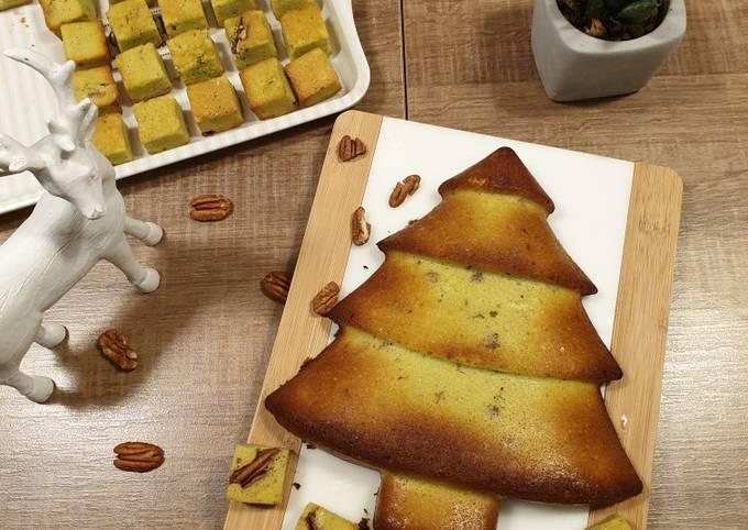 Brownie pistache-pécan