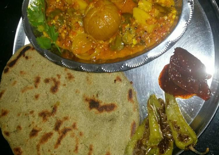Recipe of Ultimate Kathiawadi lunch