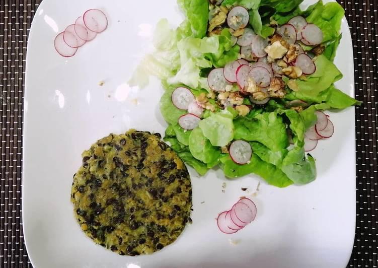 Steak aux 2 lentilles Tandoori #healthy