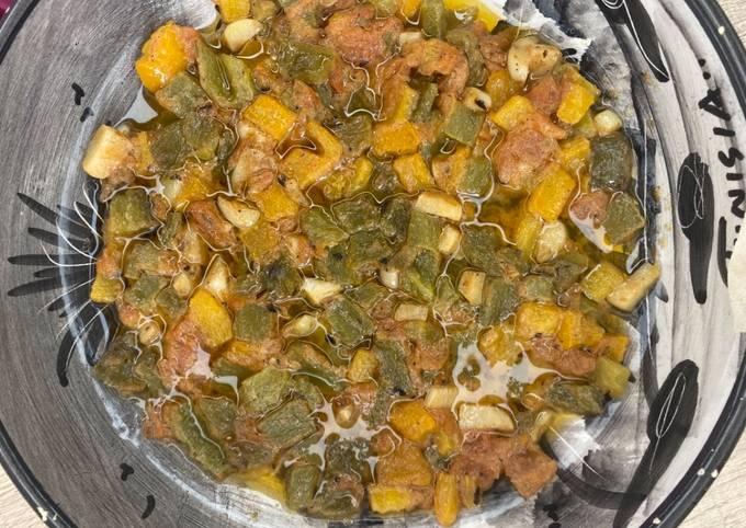 Salade de poivrons(felfla)