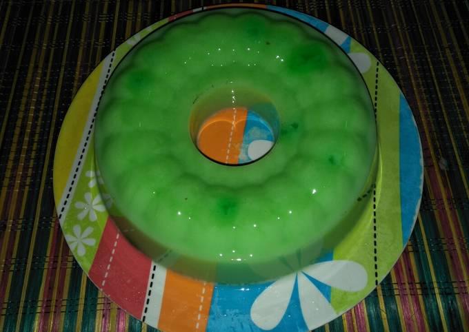 Puding Susu Melon #BikinRamadhanBerkesan
