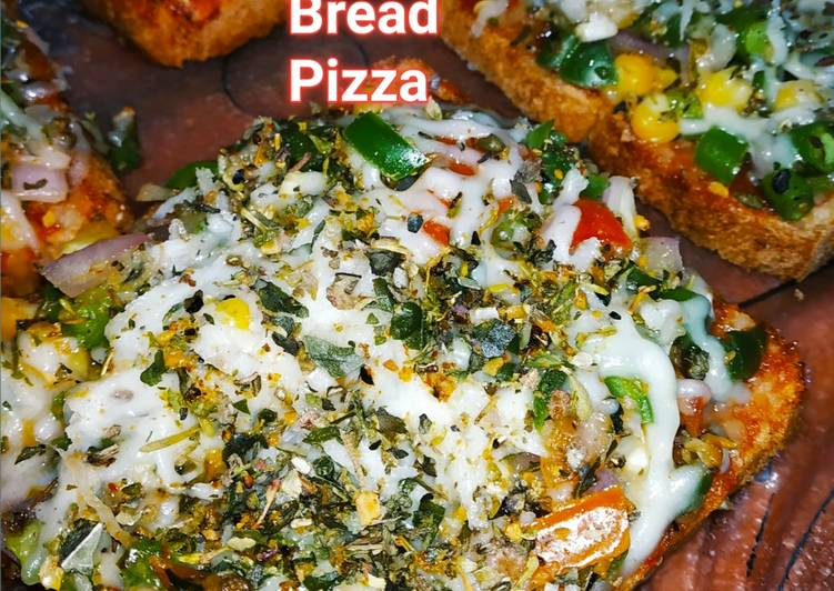 Bread Pizza on Tava