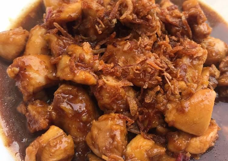 Ayam Kecap Ketumbar