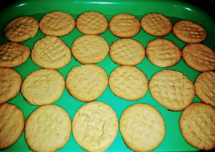 Simple Way to Prepare Super Quick Homemade Peanut Butter Cookies
