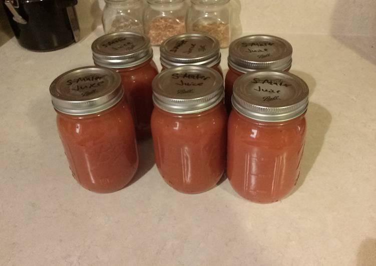 Recipe of Quick Zesty Tomato Juice