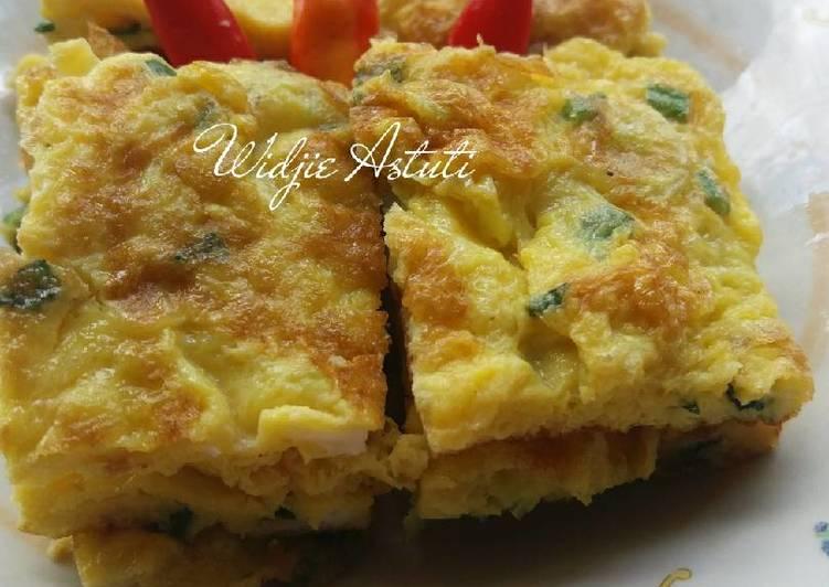 Telur Dadar Minyak Wijen