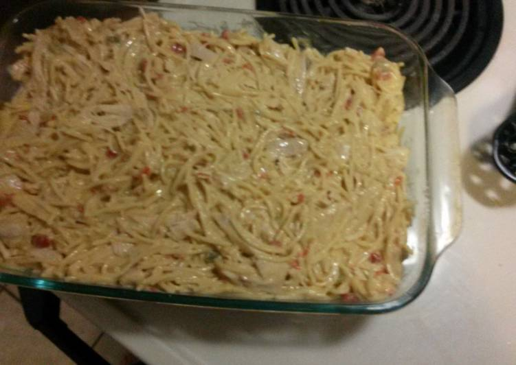 Chicken spaghetti my way