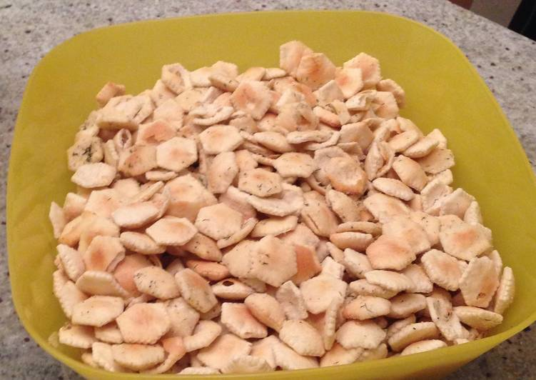 Oyster Crackers Mix