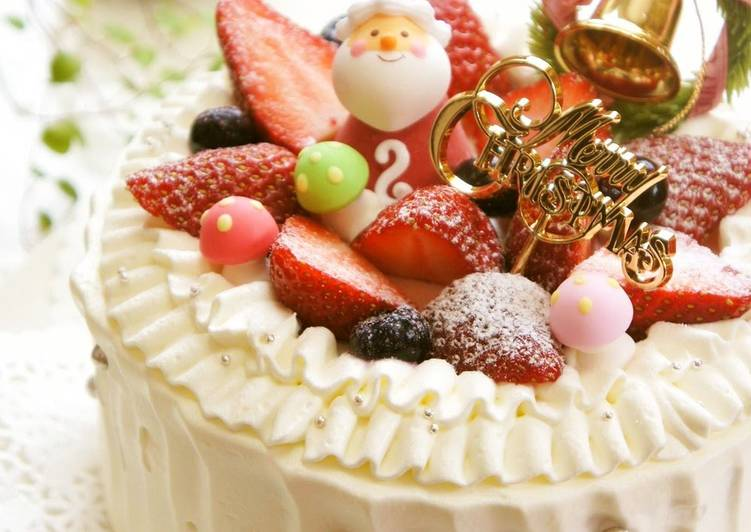 Recipe: Appetizing Decorated Christmas Cake