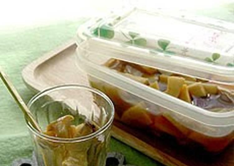 Easiest Way to Make Any-night-of-the-week Microwaved Oil-Free Marinated Mushrooms