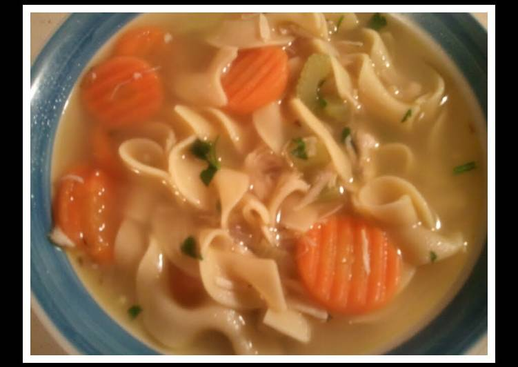 Comfort Chicken Noodle Soup, Help Your Heart with The Right Foods