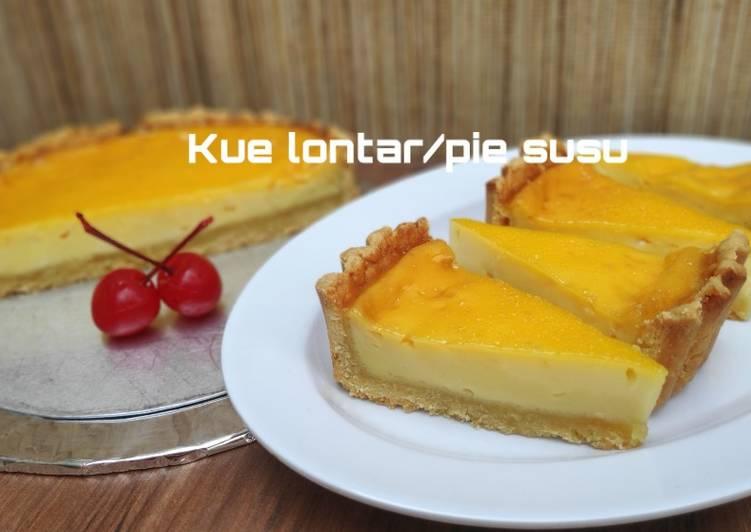 Resep Kue lontar/pie susu Paling Enak