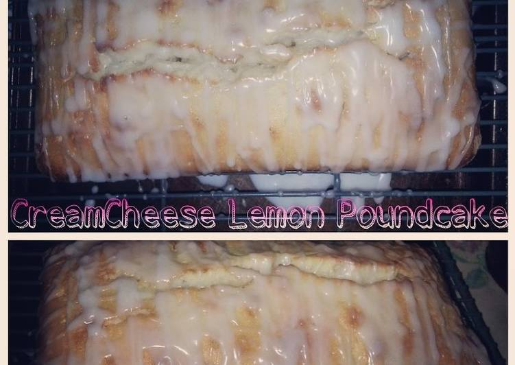 Cream Cheese Lemon Pound Cake
