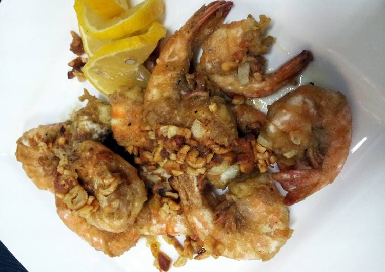 Step-by-Step Guide to Prepare Perfect Pam's garlic shrimp...