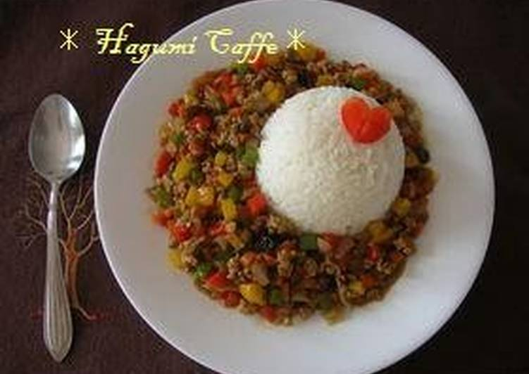 Learn How to Boost Your Mood with Food Colorful Ground Pork and Vegetable Curry