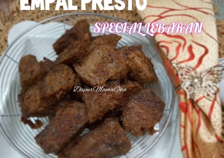 Empal Presto Special Lebaran