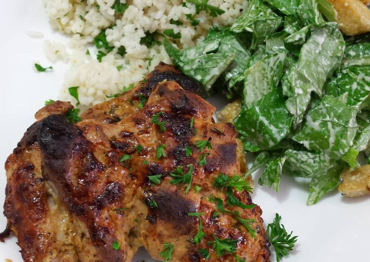 Dijon-Lime Baked Chicken