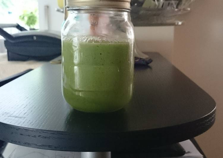 How to Prepare Appetizing Special Green Smoothie