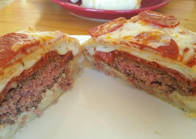 Kauri's Pizza Burger