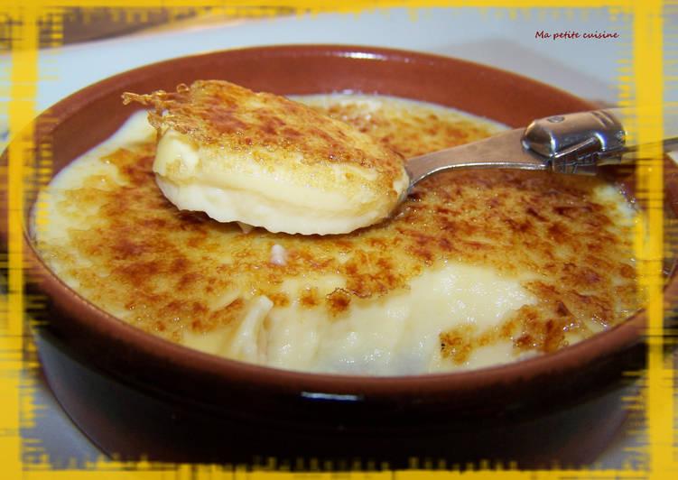 Crema catalana ou crème brulée