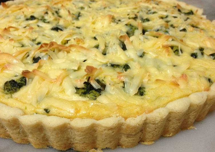Chicken Spinach Quiche Recipe By Nirmala Prem Cookpad