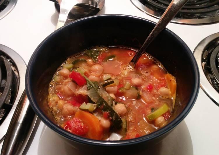 Steps to Prepare Favorite Minestrone Soup
