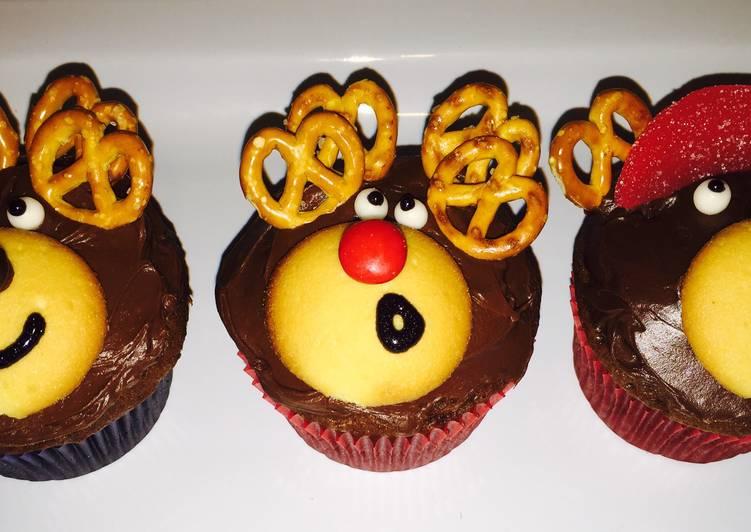 Step-by-Step Guide to Make Speedy Reindeer Cupcakes