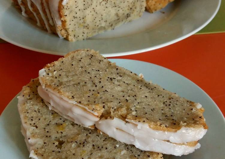 How to Prepare Perfect Vickys Lemon Poppy Seed Cake, GF DF EF SF NF