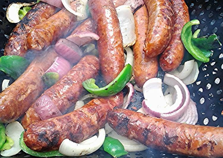 Memorial Day sausages