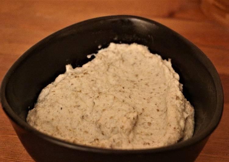 Purée de topinambours à la pâte de curry vert