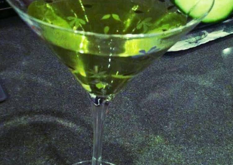Cucumber Melon Martini