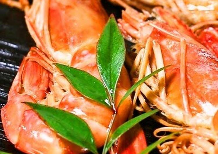 For New Year's! Simmered Shrimp