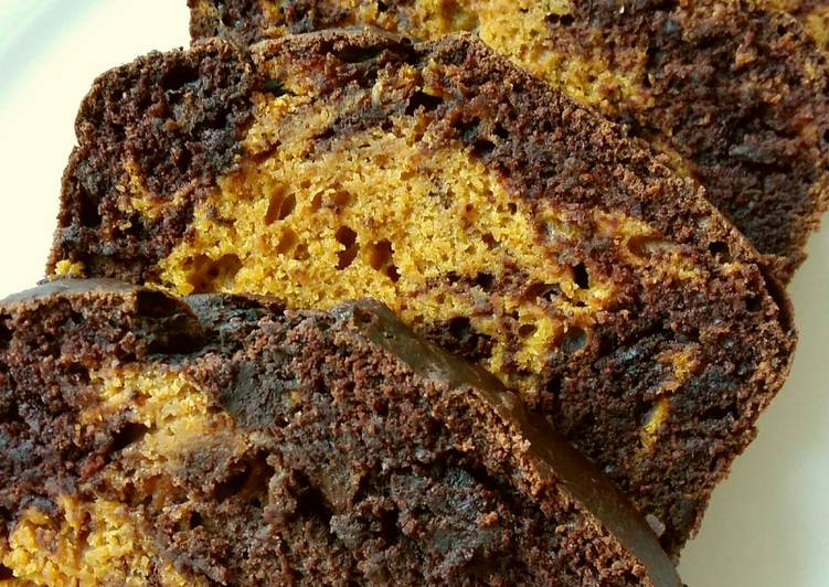 Step-by-Step Guide to Make Perfect Vickys Pumpkin Chocolate Marble Loaf GF DF EF SF NF