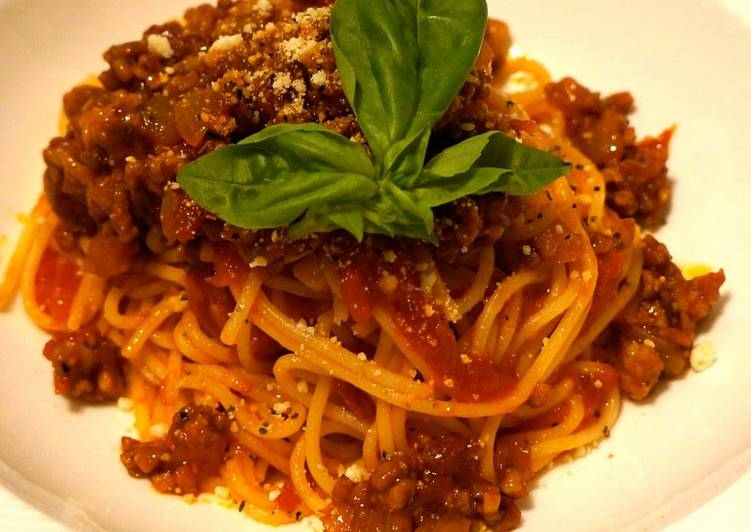 3 Easy Points for Successful Pasta Bolognese