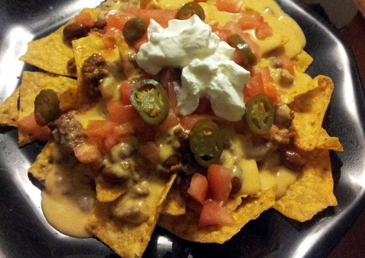 Easiest Way to Make Homemade dinner nachos