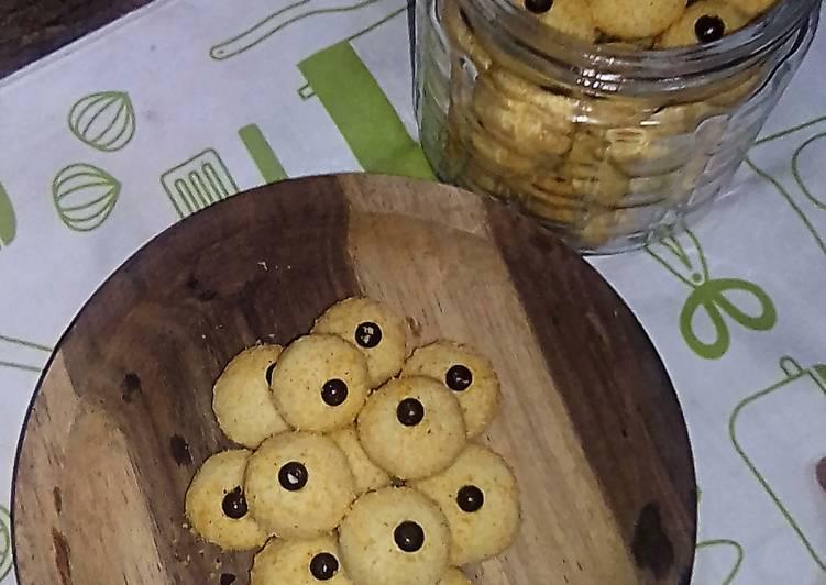 Eggless Monde Cookies Or Kue Kering Janda Genit