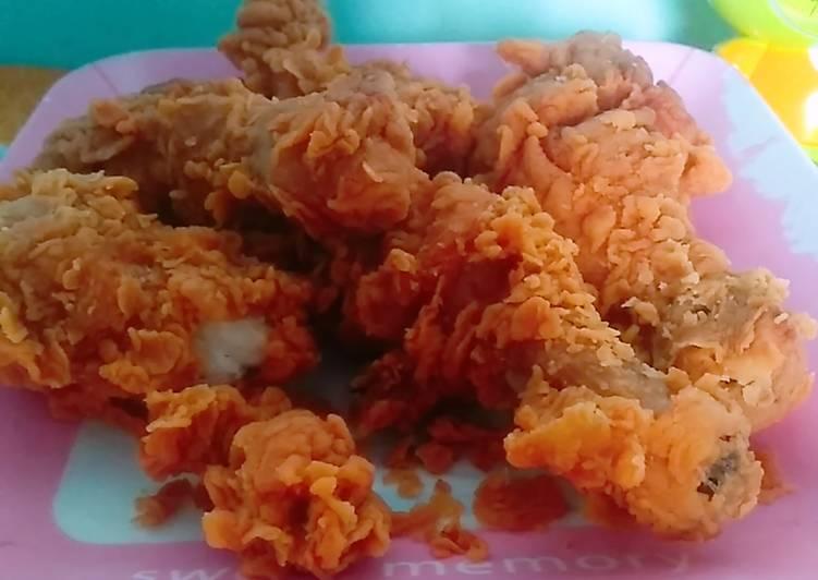 7.Ayam crispy kfc