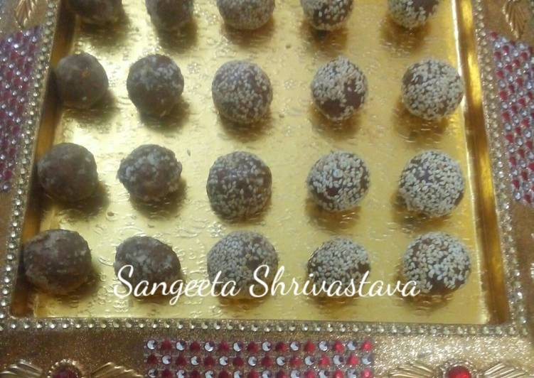 How to Make Appetizing Dairy milk chocolate til pede for makarsankranti