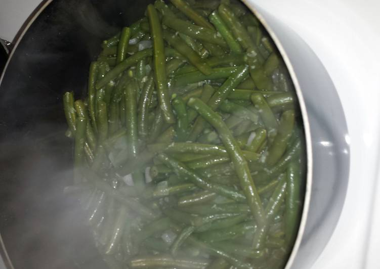 Recipe of Quick Fresh green beans