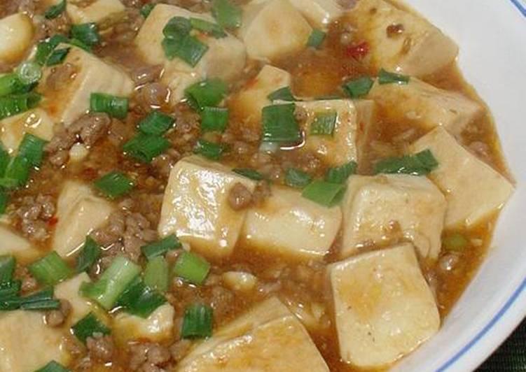 Easy Homemade My Mapo Tofu Recipe