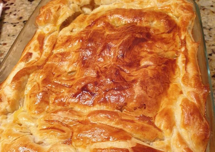 Step-by-Step Guide to Prepare Perfect Bacon, herb and vegetable pie