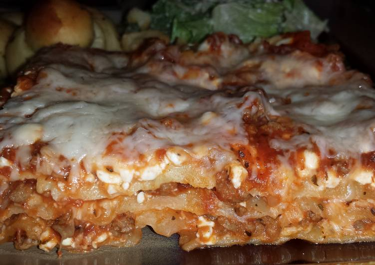 Quick and Easy Lasagna