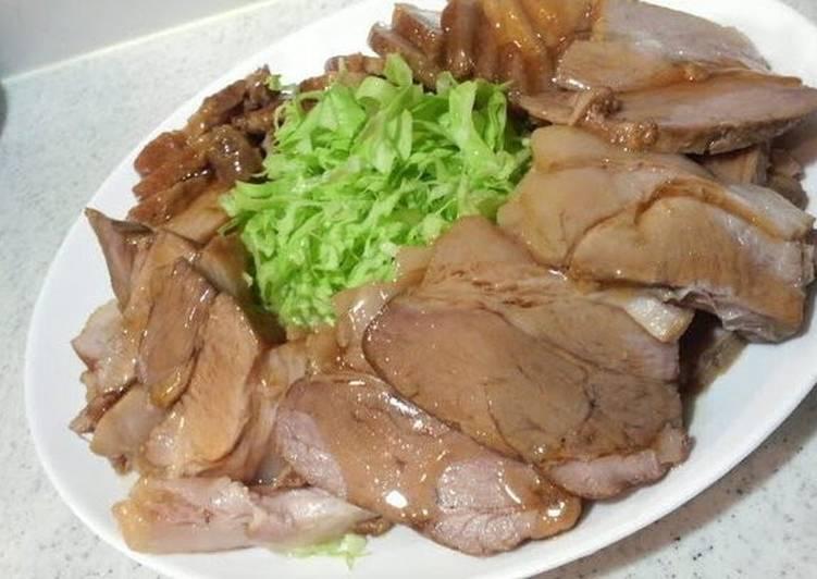Easy Pork Char Siu from a Ramen Noodle Bar