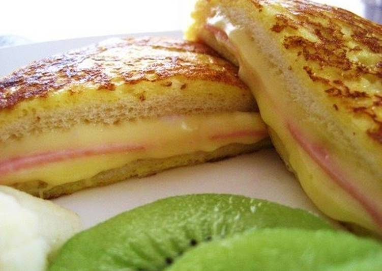 Easy Croque-Monsieur Style French Toast