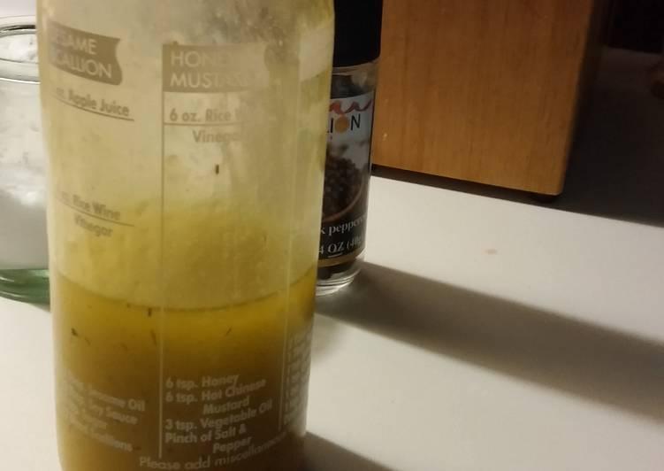 Easiest Way to Cook Tasty Honey & Lemon Vinaigrette