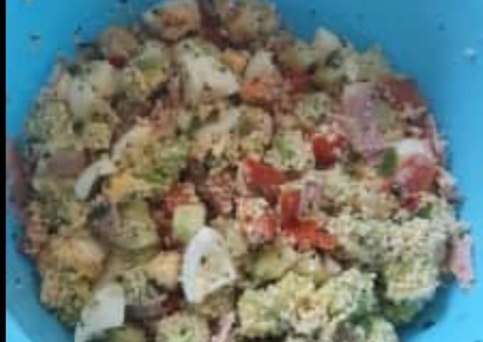 Salade recomposée