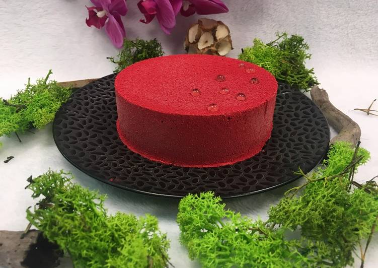 Entremet mousse framboise crémeux vanille – Epicurious Cookbooks