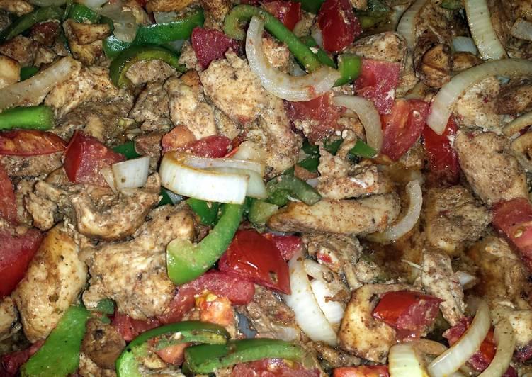Recipe: Delicious Oven Baked Fajita